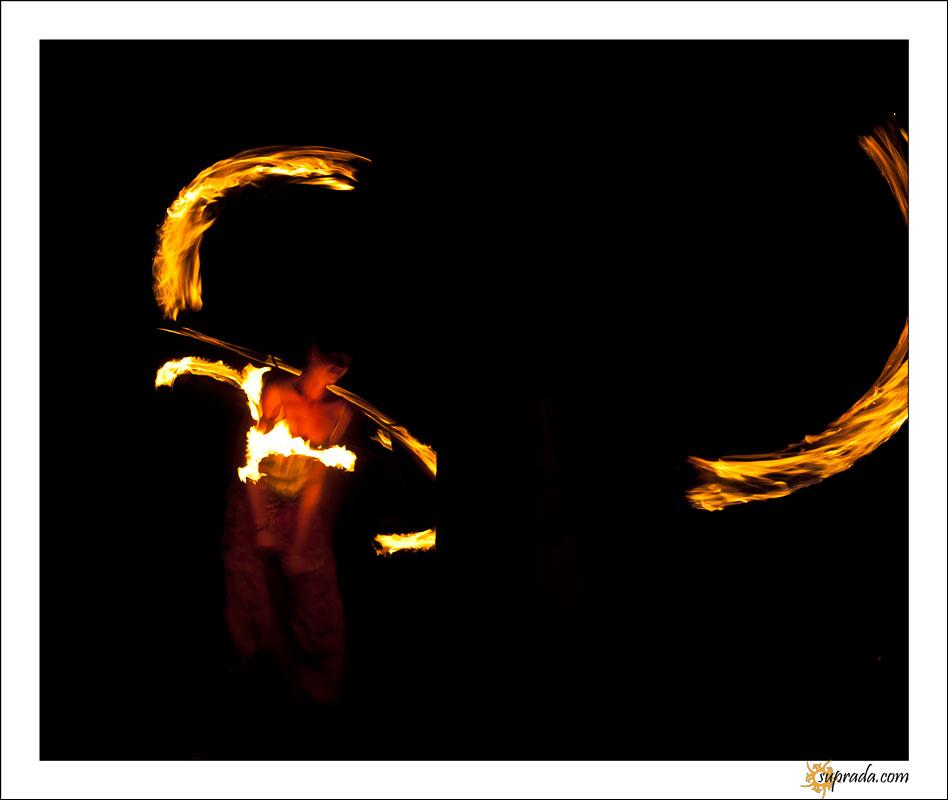Fire dancers - 11