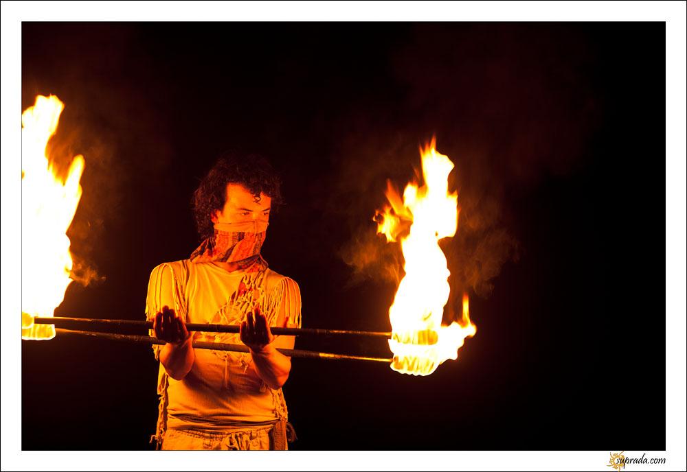 Fire dancers - 12