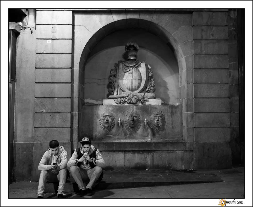 Barcelona - by La Rambla