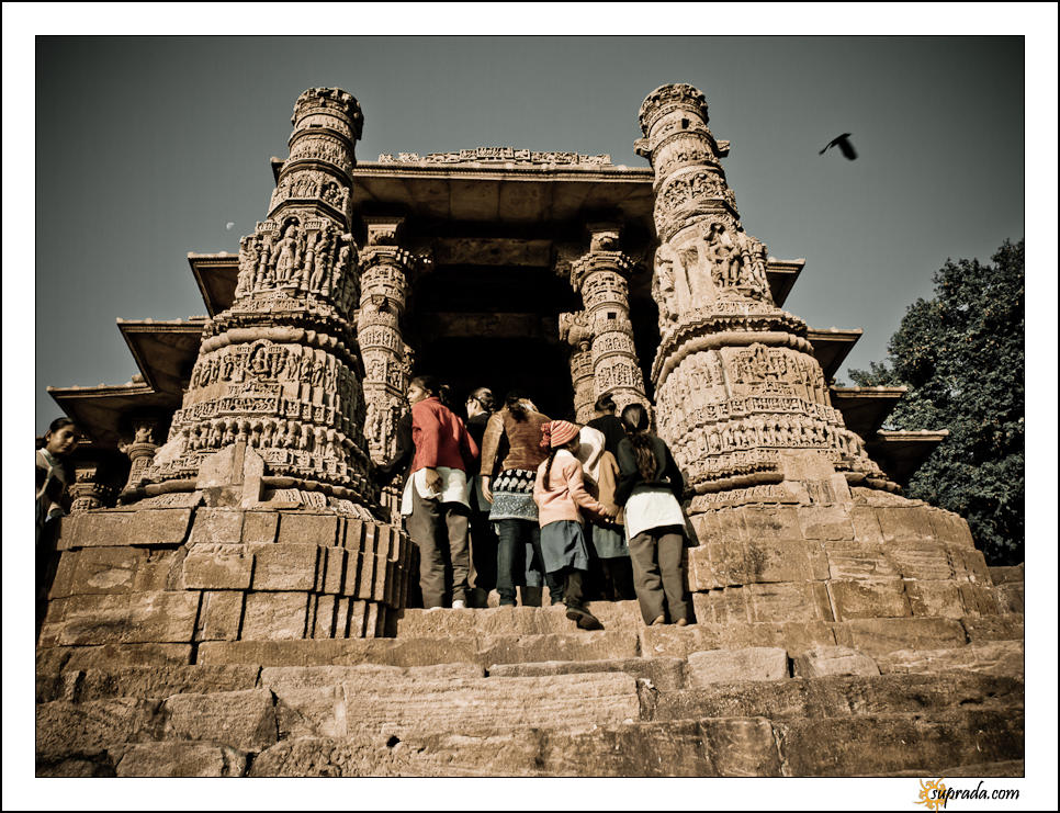 School Kids - People at Modhera series