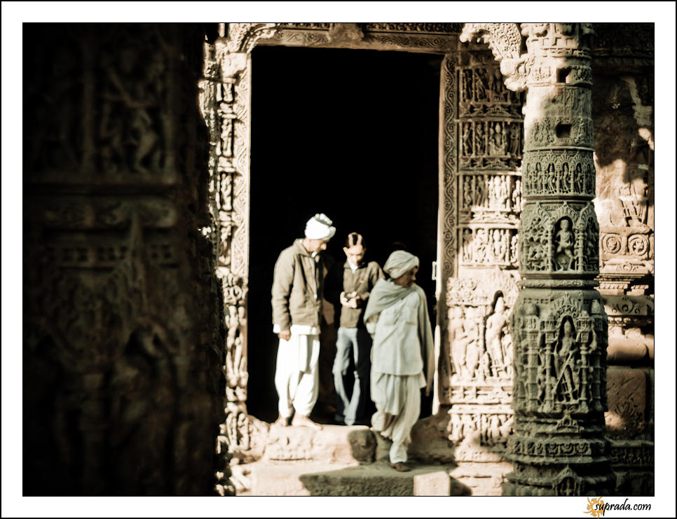 Locals - People at Modhera Series