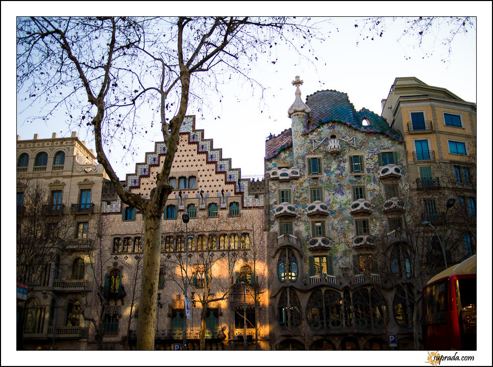 Casa Amatller and Casa Batllo