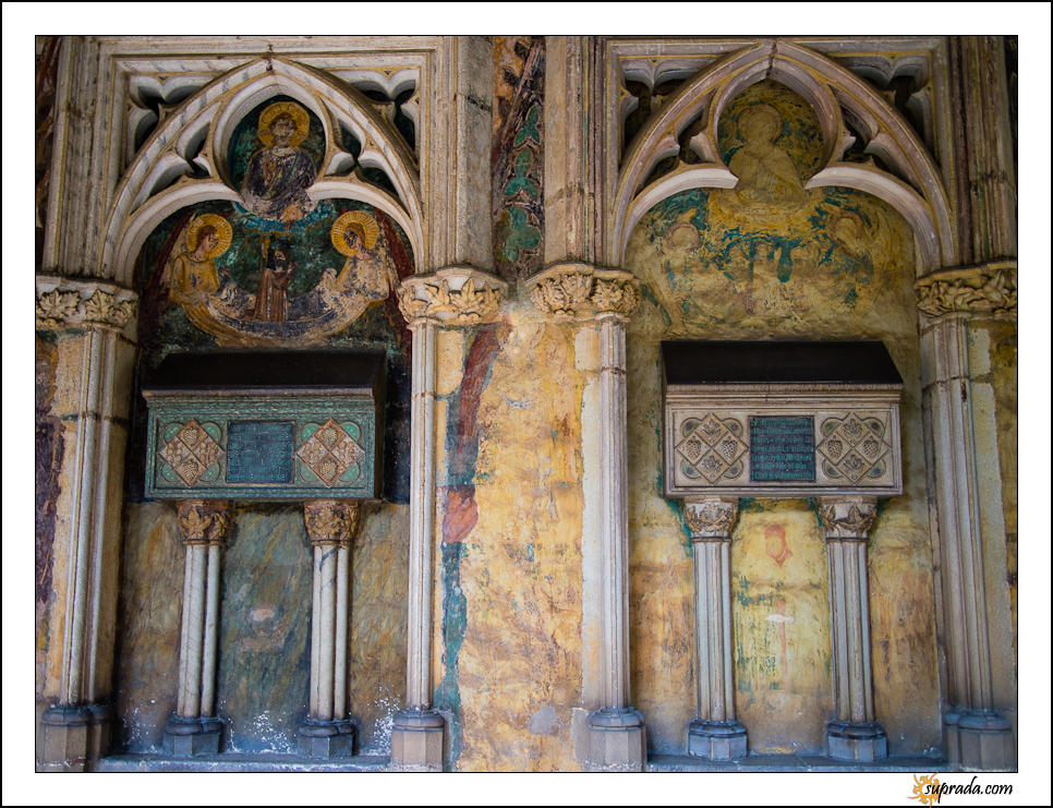 Faded Murals - Tomb of Elisenda de Montcada