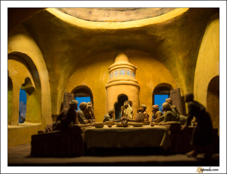 The Last Supper Diorama -  MONSATIR DE PEDRABLES