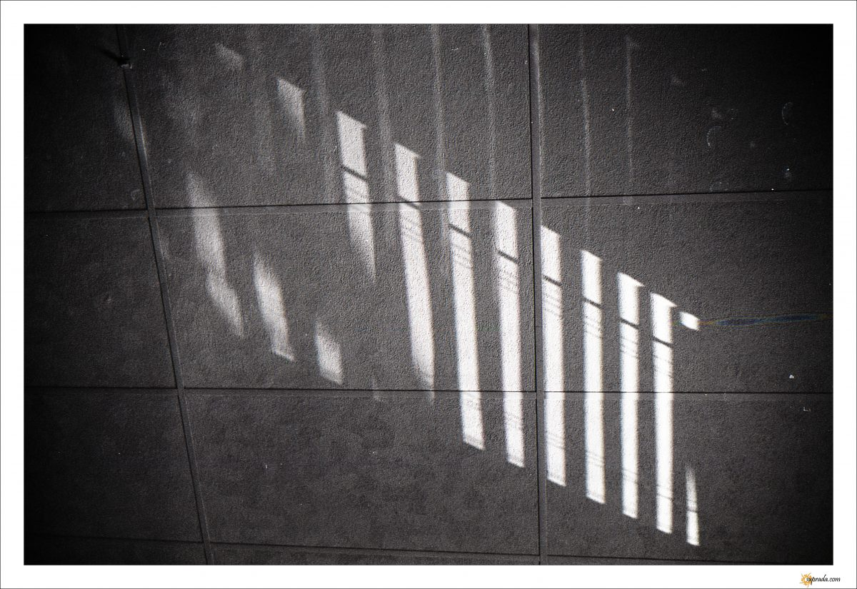 Light on tiles