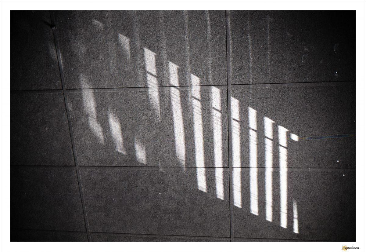 Light on tiles
